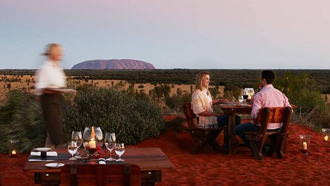 Ayers Rock Resort outback dining