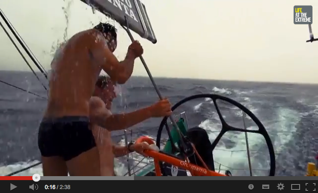 Just another day at the office, Volvo Ocean Race